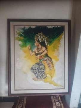 Lukisan Penari Karya Aming