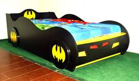 Batman Brand New Single Car Bed for Boys, Children Bedrooms Beds