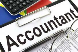 Aurgent requirement for an accountant ( both male and female pref.)