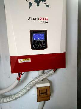 Petrol pump solar system day and night service