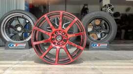 Ready velg racing sienta terios rush ring16x7 h5x100/114.3 et40