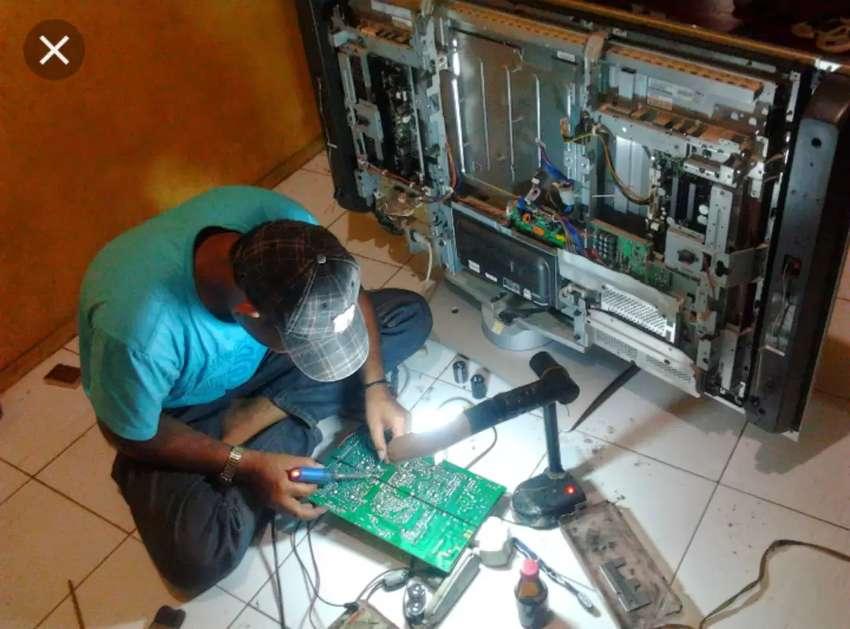 servis panggilan TV LED,LCD,TABUNG,MESIN CUCI,langsung jadi 0
