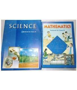 NCERT science and mathematics class 9
