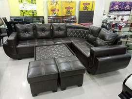 New sofa sat