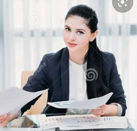 Receptionist - Only female