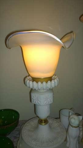 Lampu tidur full kristal sabun kap kristal kaca.