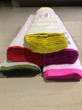 Good quality Crepe Paper in Vibrant colours