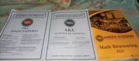 Aga khan University Past paper and pratice books