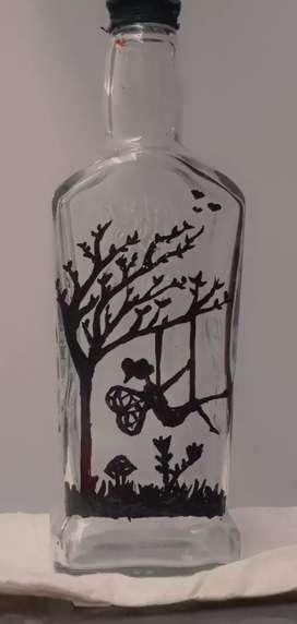 Cute bottle art