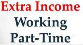Hiring candidates for part time jobs which takes the income upto 3000