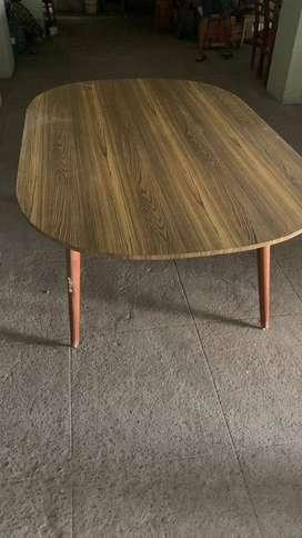 Teak wood Dining +6 chairs