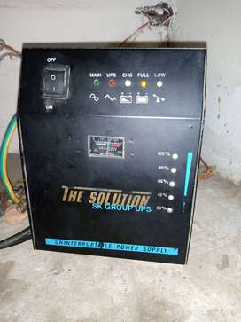 1000 vts UPS with fresh condition only 9500/-