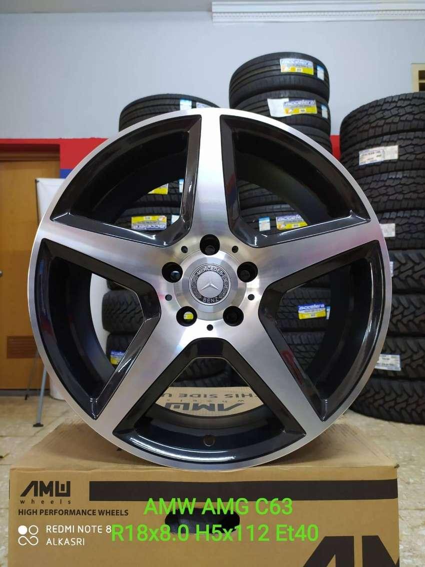 VELG mini cooper cabrio mercy AMW AMG C63 R18X8.0 H5X112 ET40 0
