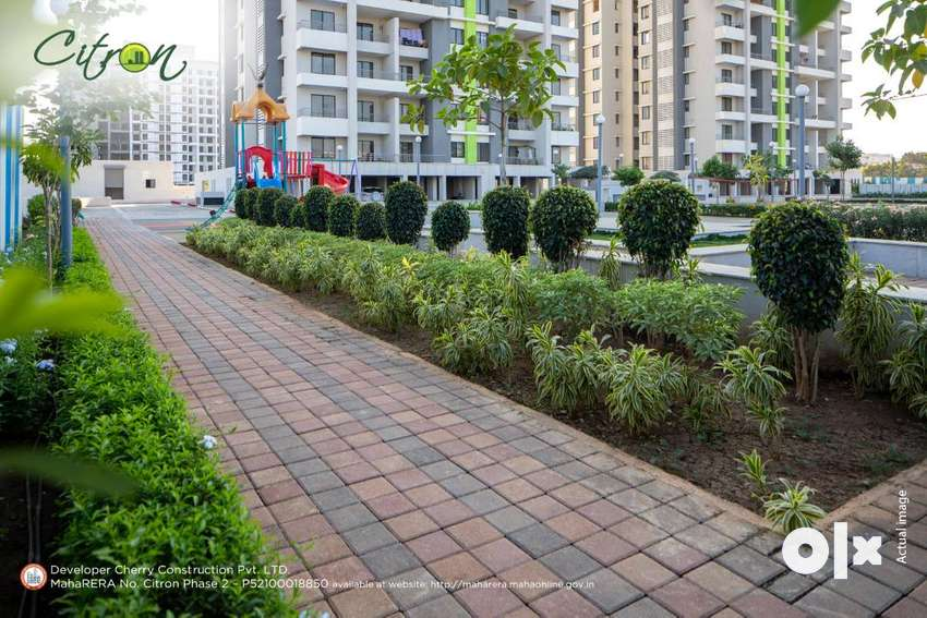 1 Bhk in Wagholi, at 30.50 Lac(all incl)in premium project Citron 0