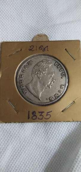 Antique coin 1835