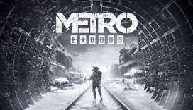 For 200-400 Metro Exodus & Metro Redux games for PC and computer full