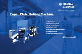Business From-Home Install Paper Plate Machine with Attractive Buyback