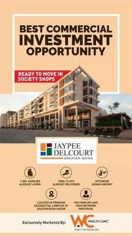 Jaypee Greens Society shops available for sale no.