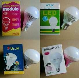 Lampu LeD untuk rumah, hemat daya awet bergaransi