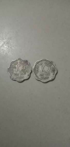 Old coin collection