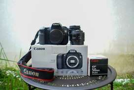 Kamera dslr bonus lensa