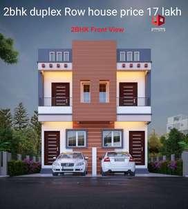 2 bhk duplex row house