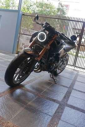 Kawasaki z250 modif hedon