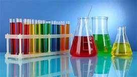 Degree B.sc chemistry or M.sc