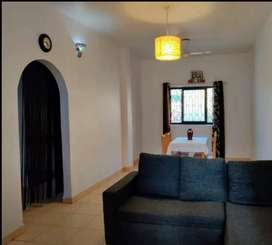 Available 1bhk flat for rent at Old Goa