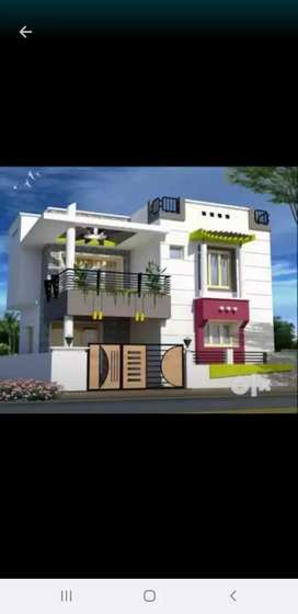 Lease house 13 lakhs two bedroom with hall kitchen with