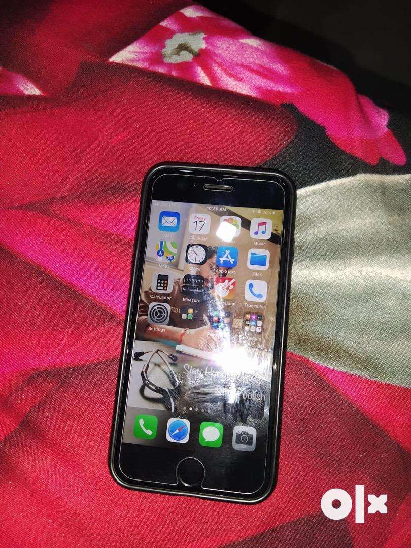 Iphone 7 256gb jet black 18 months old only 0