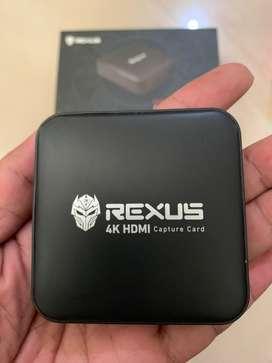 Jual Capture Card ReXus Hd100 4K 1920x1080 Hd