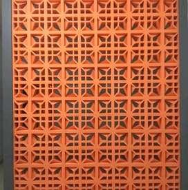 Menjual berbagai macam roster beton minimalis Terakota