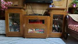 Wooden TV Showcase made by waterproof century plywood.