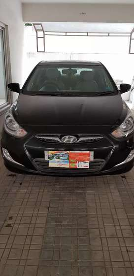 Verna Fluidic 1.6SX 2013 Black color