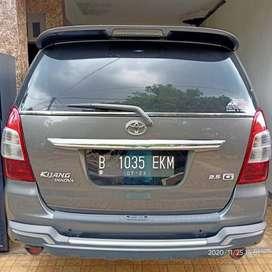 Nett Toyota New Kijang Innova 2013 Diesel Solar - Abu Abu Manual