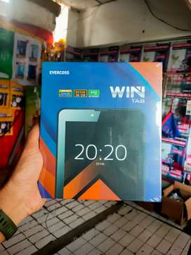 Tablet Evercoss win tab U70B 7 inchi ram 3gb 4G