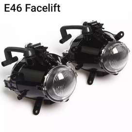 Foglamp 2 pcs lampu kabut BMW E46 Facelift 318i 325i thn 02-04