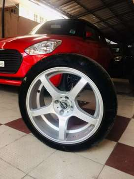 17 inch Alloy Wheel & Tyre for Sale.!