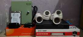 Paket kamera cctv AHD 4 channel 5 MP