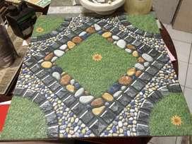 keramik teras motif terbaru 40x40