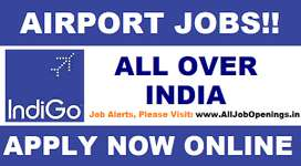Recruitment for ground staff and ticketing in Bengaluru Airport