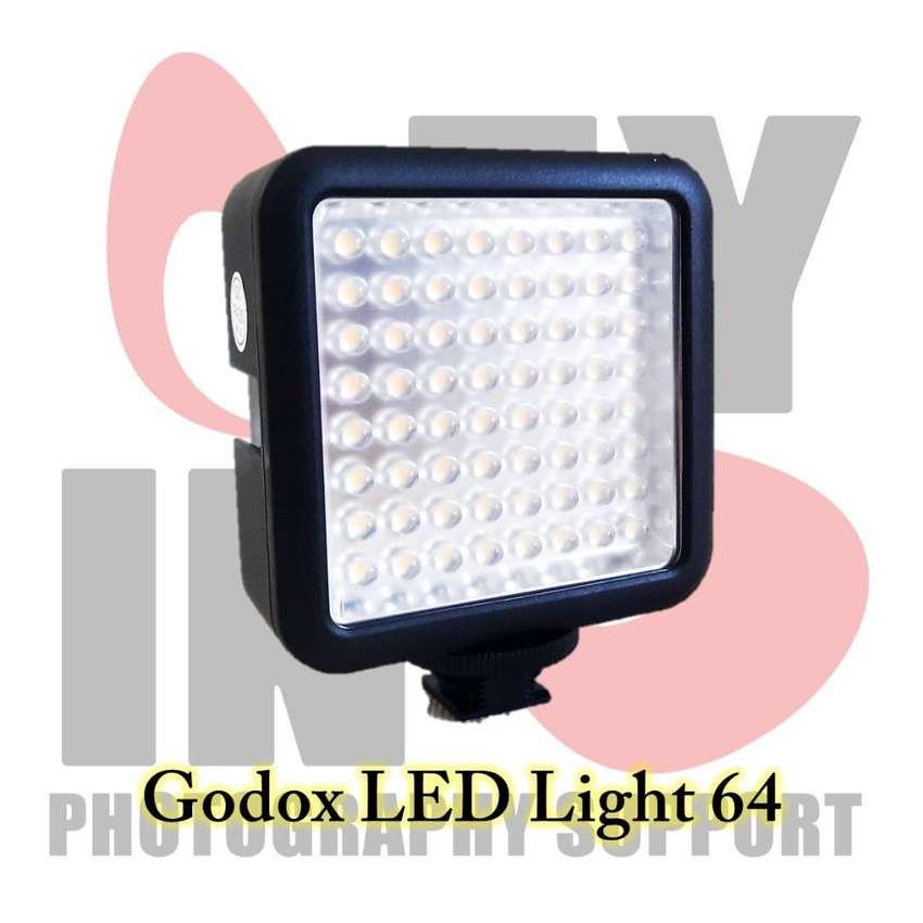 Godox Video Light 64 LED Terang dan Muraah