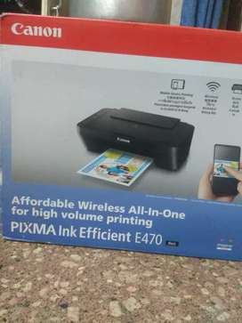 CANON PIXMA E3470 (NEW PRINTER)