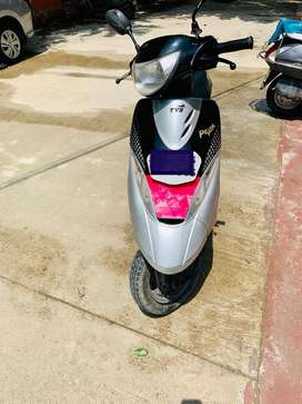 TVS Pep+ scooty in good condition used by lady only