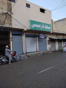 Commercial market 4 rent in front of girls digree college Peshwr chok