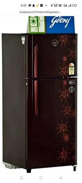 Godrej ka 231 litter refrigerator dabal door