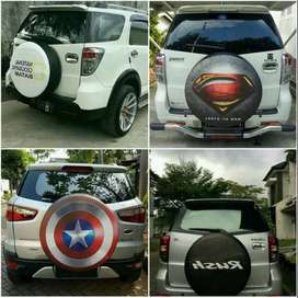 Cover/Sarung Ban Toyota Rush/Terios/Panther/CRV/Feroza Tebal Kuat  Des