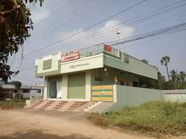 Two shops with double bedroom