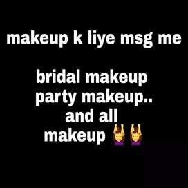 Makeup ke liye msg all makeup